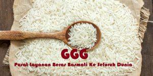 jual beras basmati GGG
